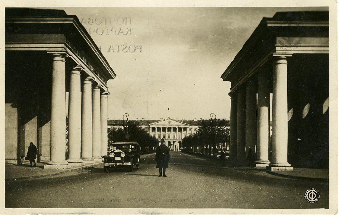 Смольный 1935 год.