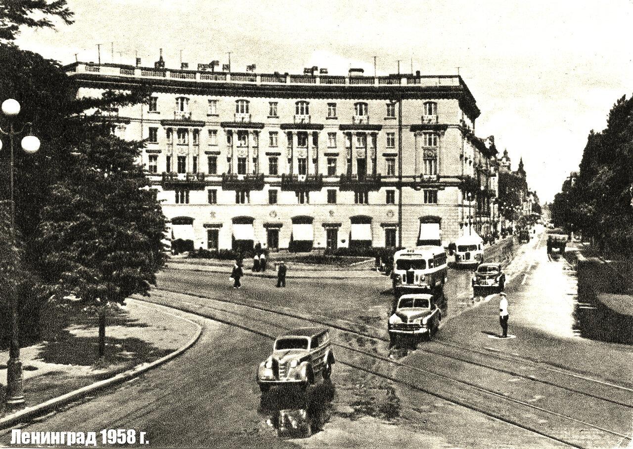 Кировский проспект 1958 год.