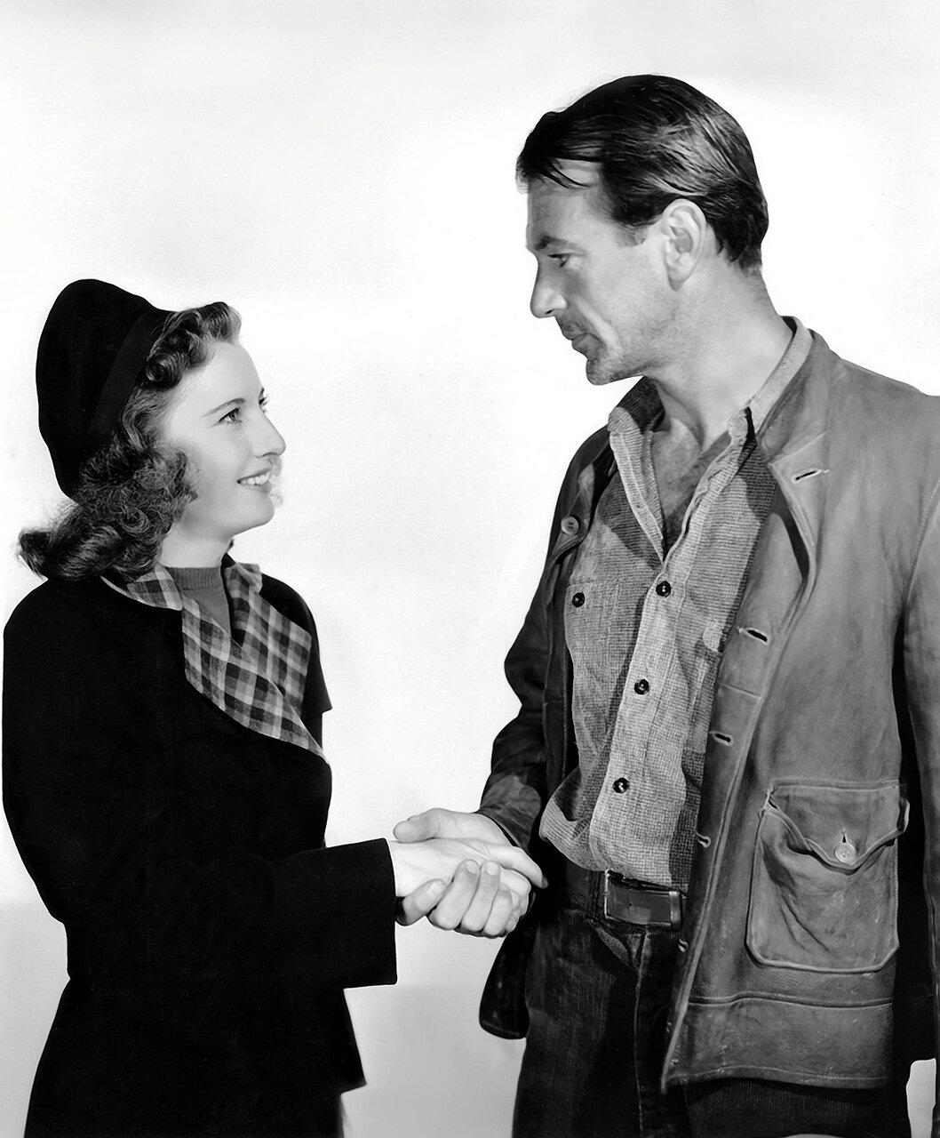 1941 Barbara Stanwyck & Gary Cooper John Doe