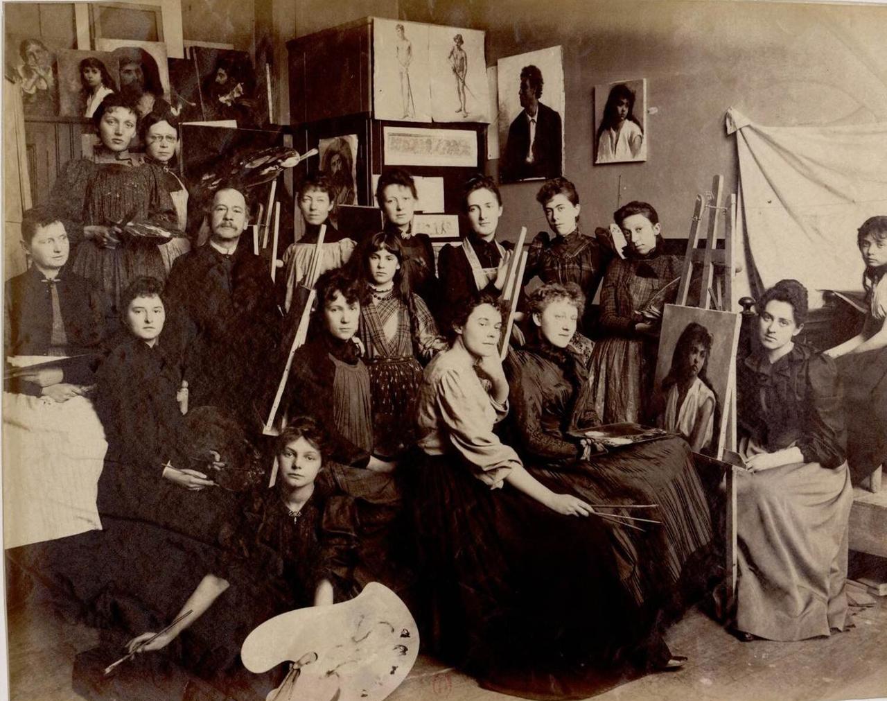 Густав Генри Мослер (1841-1920) художник