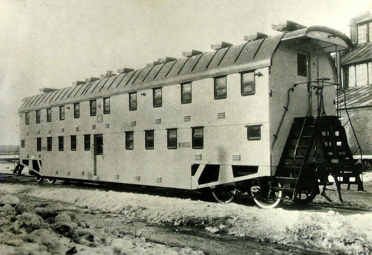 1900-е. Двухэтажный вагон. Тверь