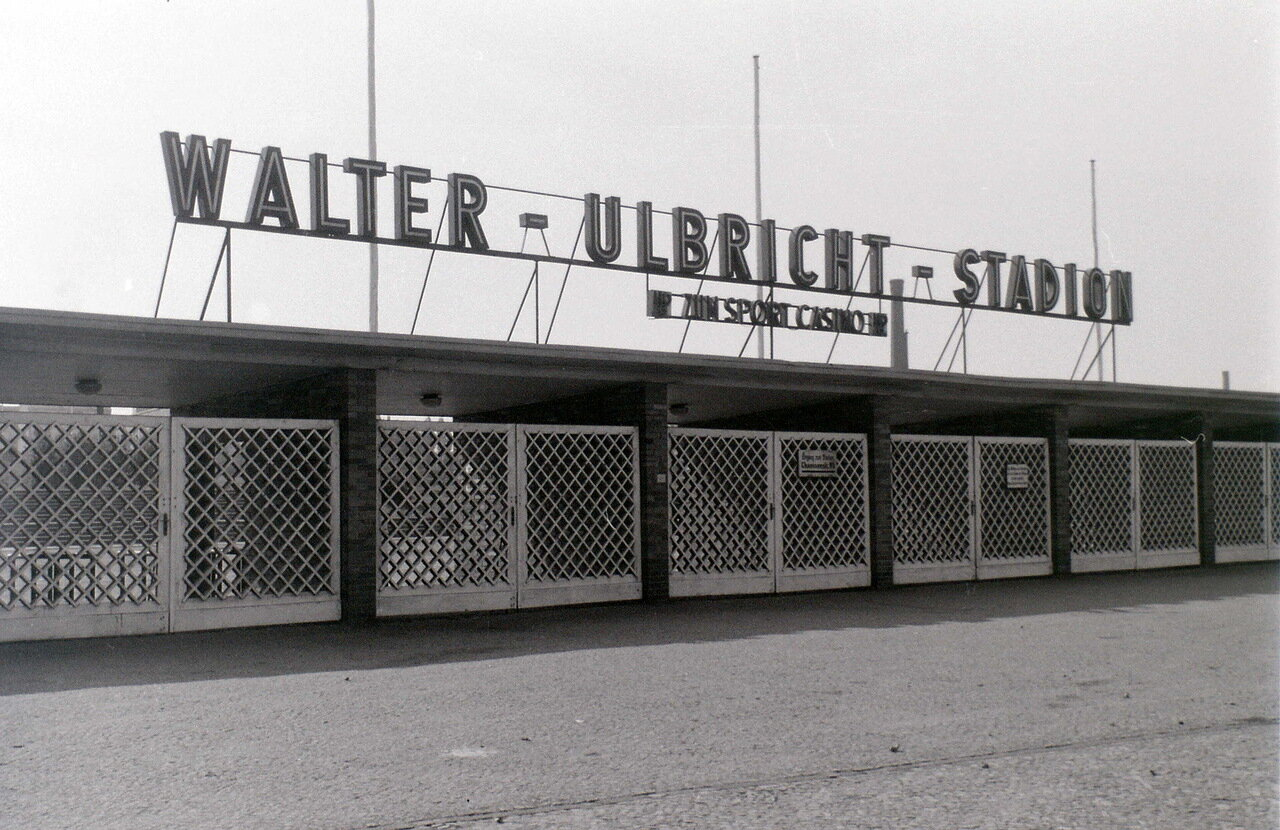 12 сентября 1959. Стадион Вальтера Ульбрихта, Восточный Берлин