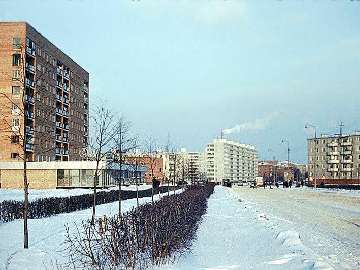 1980. Новомытищинский проспект,