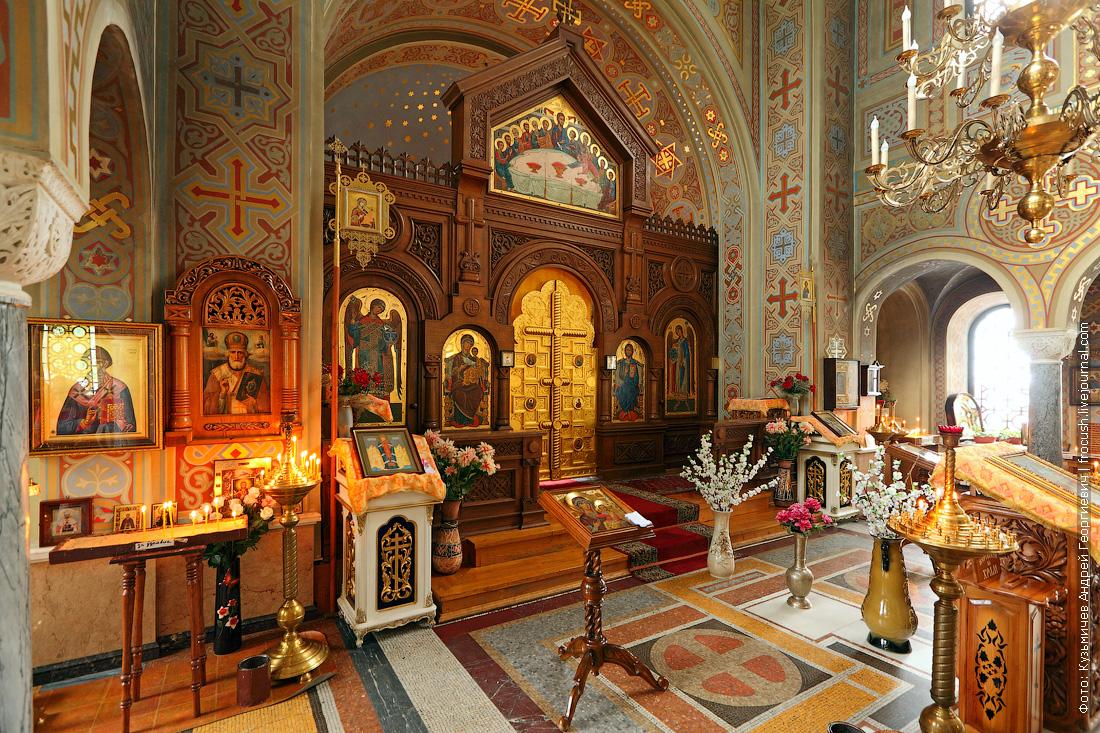 Иконостас Форосской церкви