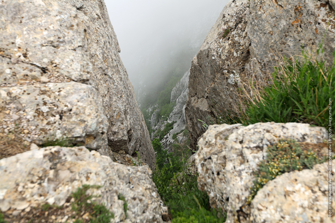 фото с вершины горы Ай-Петри