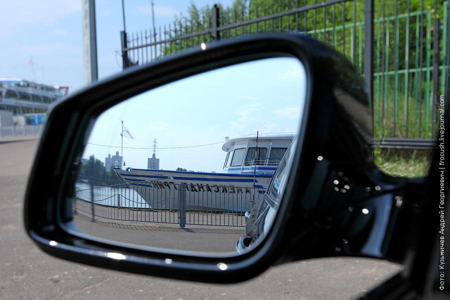 BMW 520i в Северном речном порту