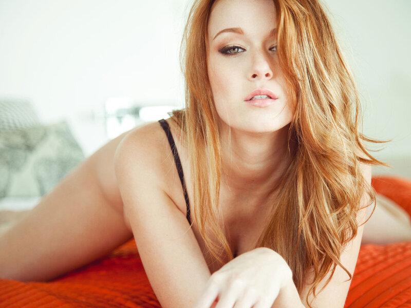 Американская модель Leanna Decker