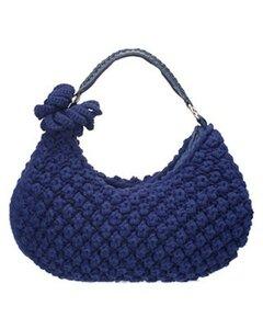 Ежевичная сумка крючком или спицами