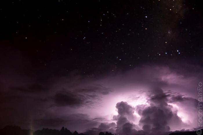 Перед ночной грозой, май 2014