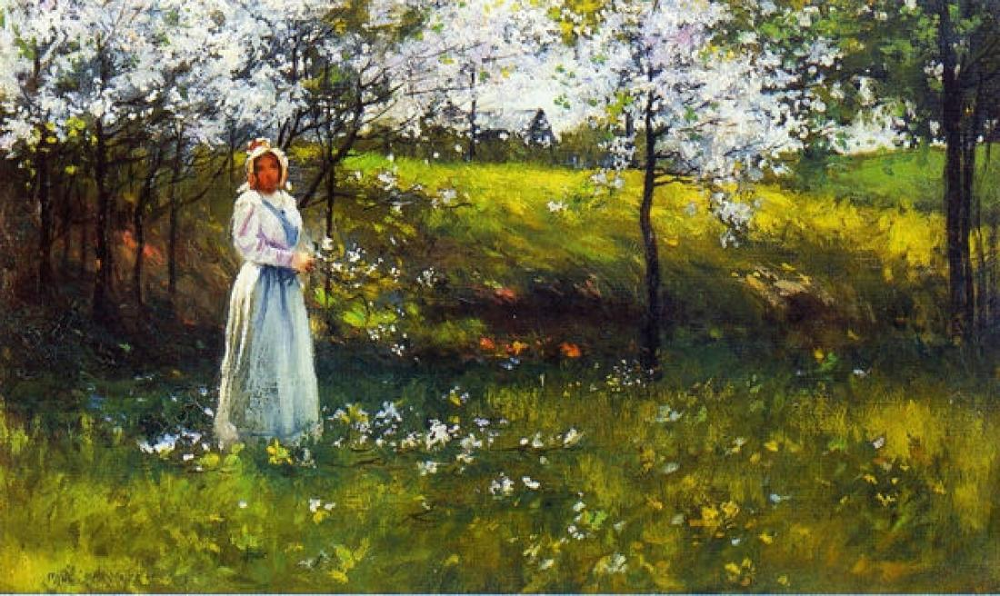 Сады цветут под небесами Подборка живописи Обсуждение
