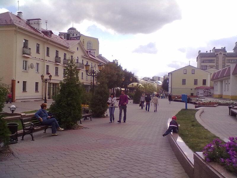 Красота на улицах Бреста