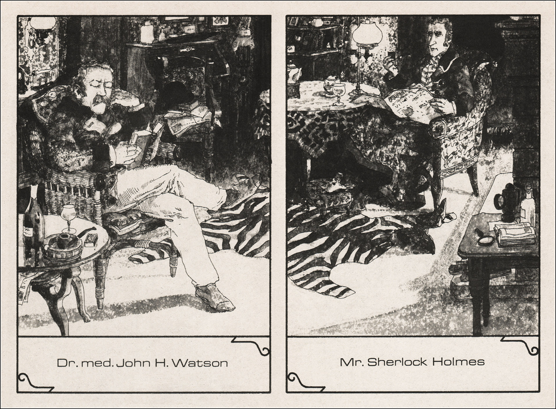 Eberhard Binder-Staßfurt, Sherlock Holmes