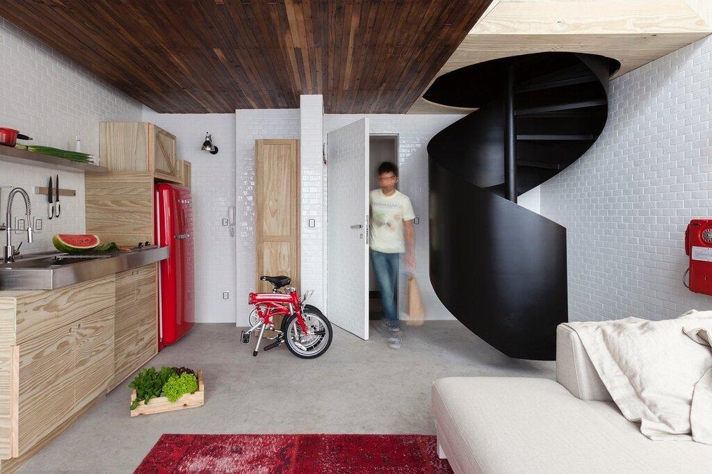 Студия квартира 36 кв.м дизайн