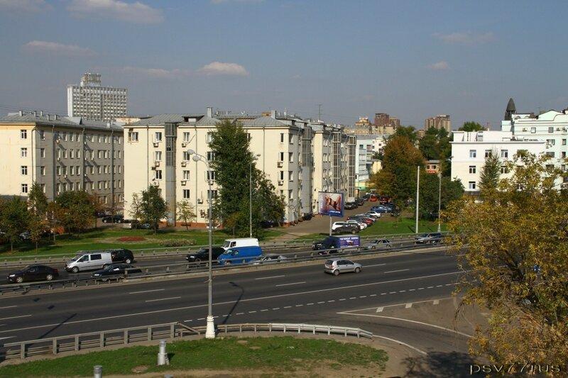 Городские зарисовки. ТТК (третье транспортное кольцо).