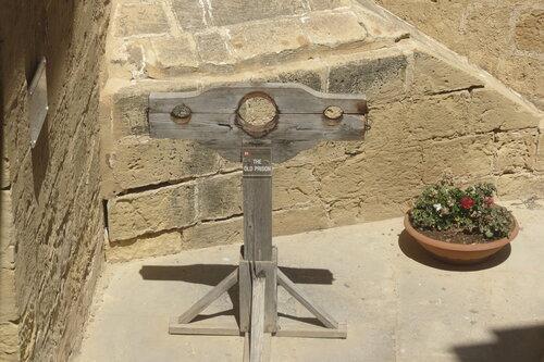Орудие пыток из старой тюрьмы