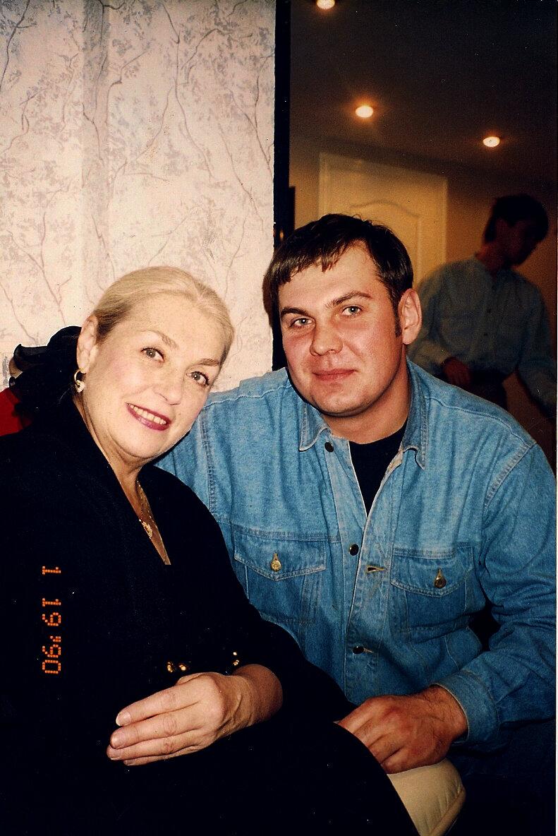 Лида Шукшина и Женя Маслов