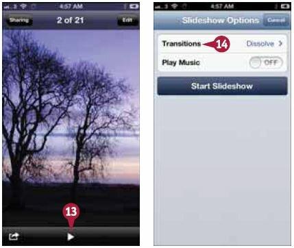 Как на айфоне сделать слайд шоу из фото и 191