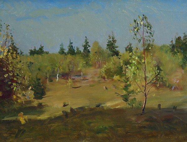Ромадин Н. М. Осенний мотив., 1955
