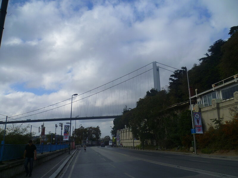 Стамбул - Босфорский мост (Istanbul - Bosphorus Bridge).