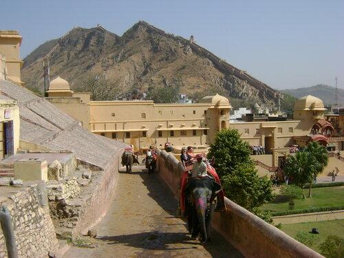 Джайпур. Амбер-форт