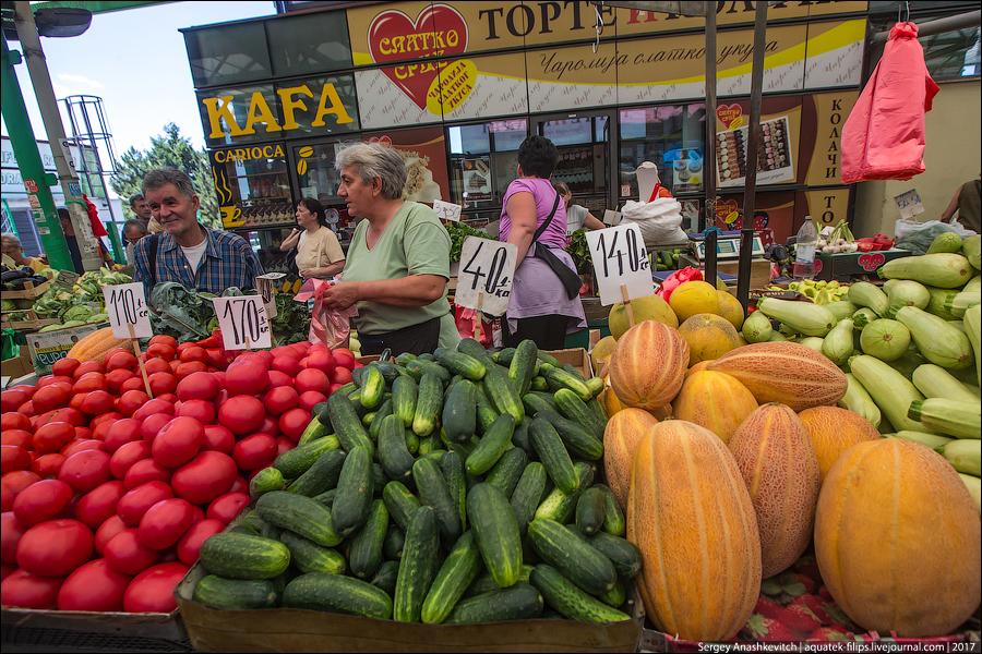 Рынок в Белграде