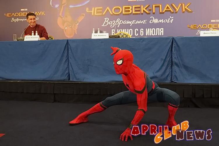 Пресс-конференция фильма «Человек-паук: возвращение домой»