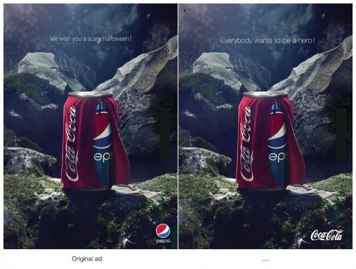 Pepsi vs Coca–Cola