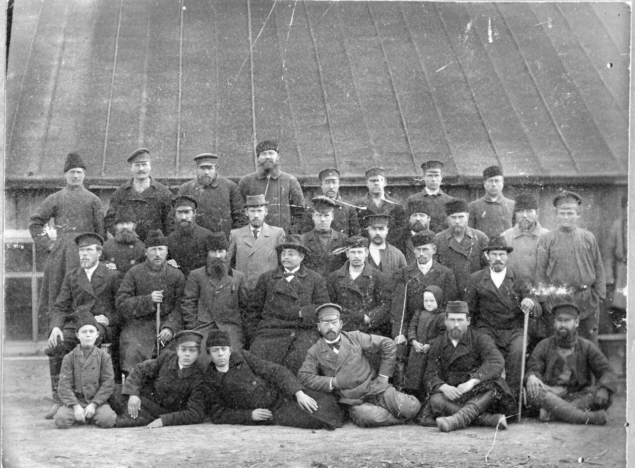 1890-е. Разметчики железной дороги. Никополь
