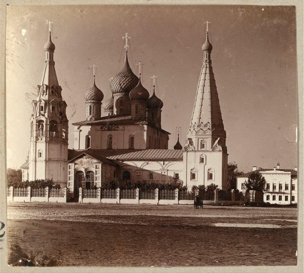 Церковь Ильи Пророка. Ярославль. 1910.