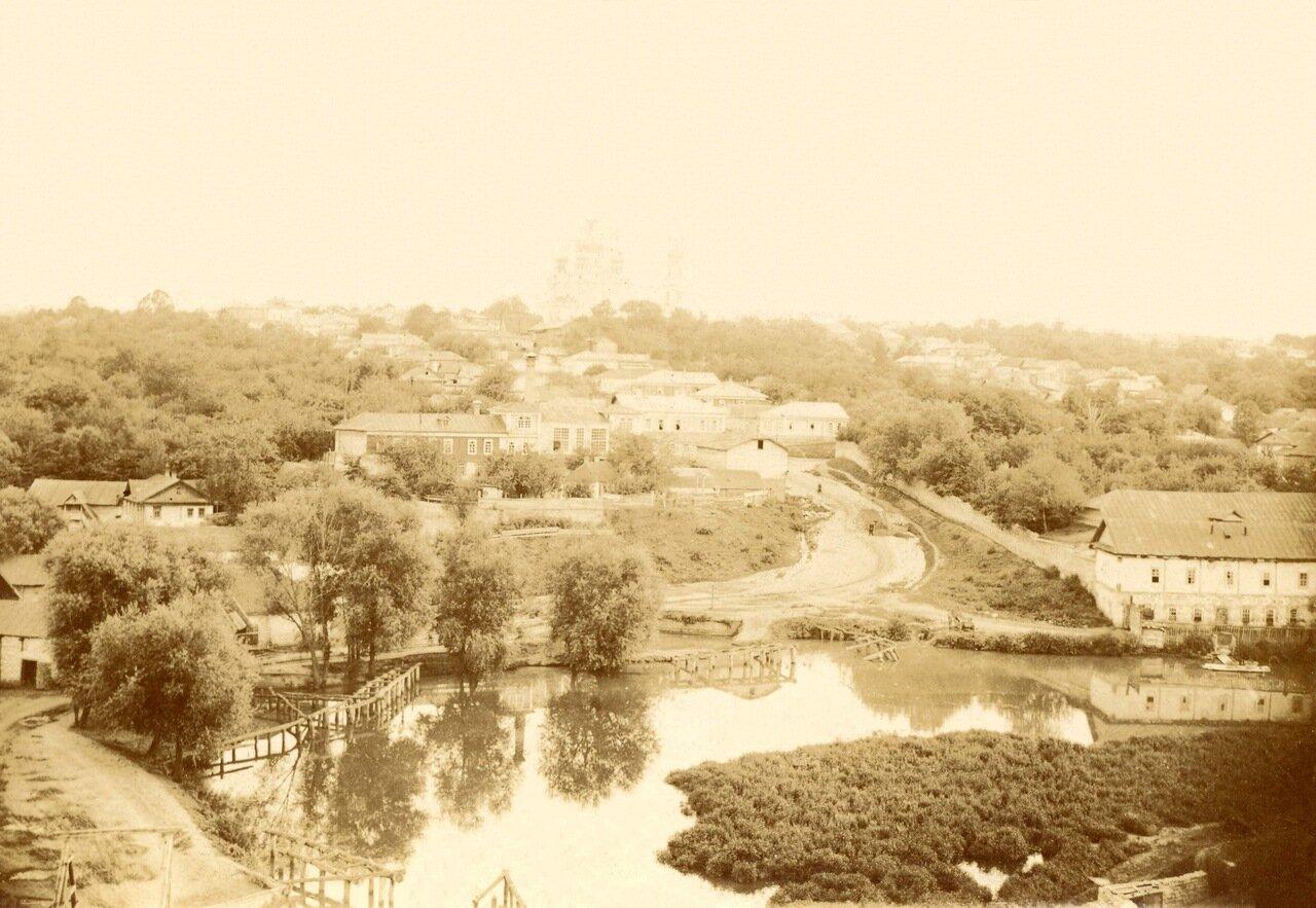 Вид города с женского монастыря