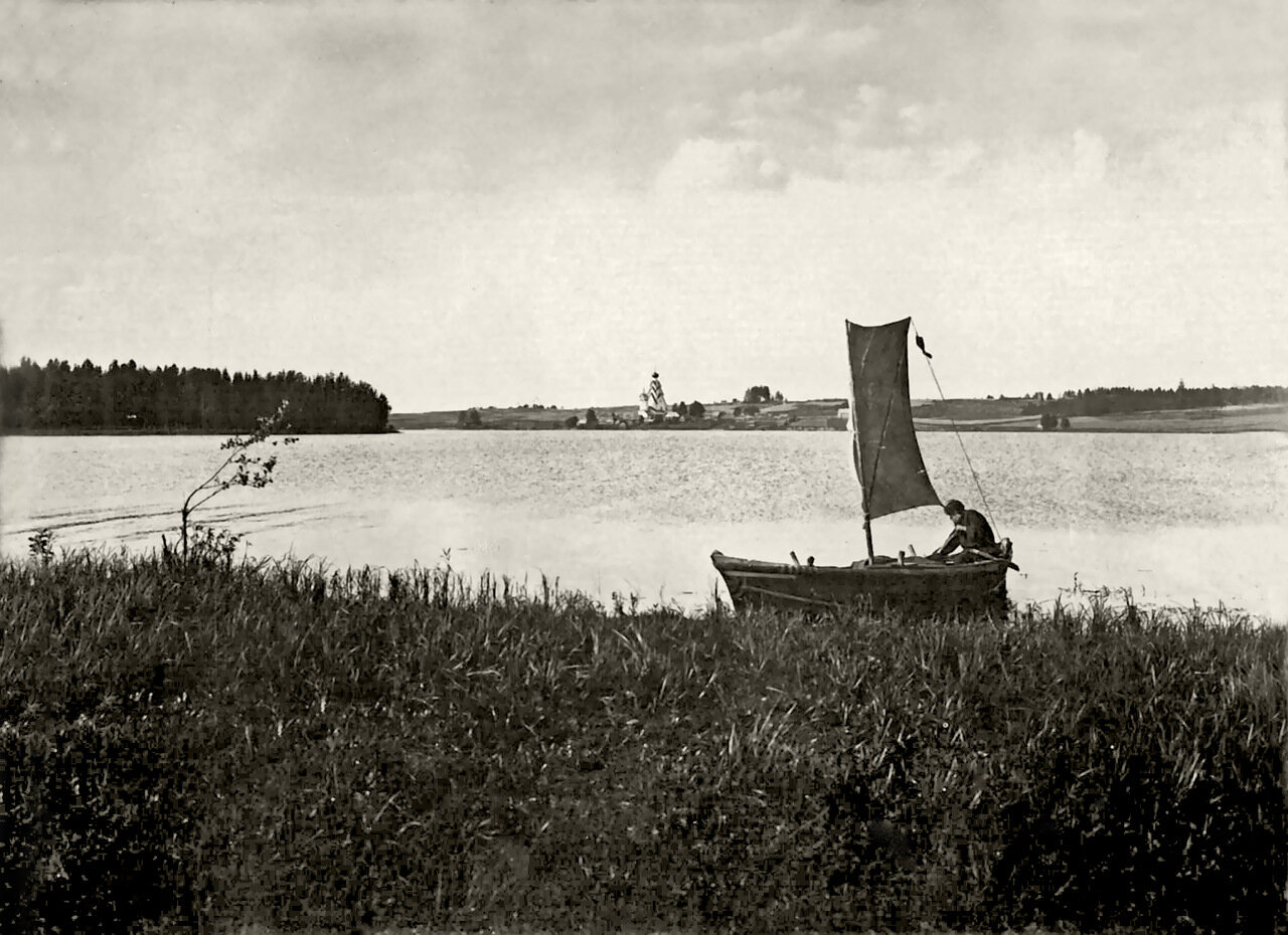 Озеро Вселуг. Ширковский погост.