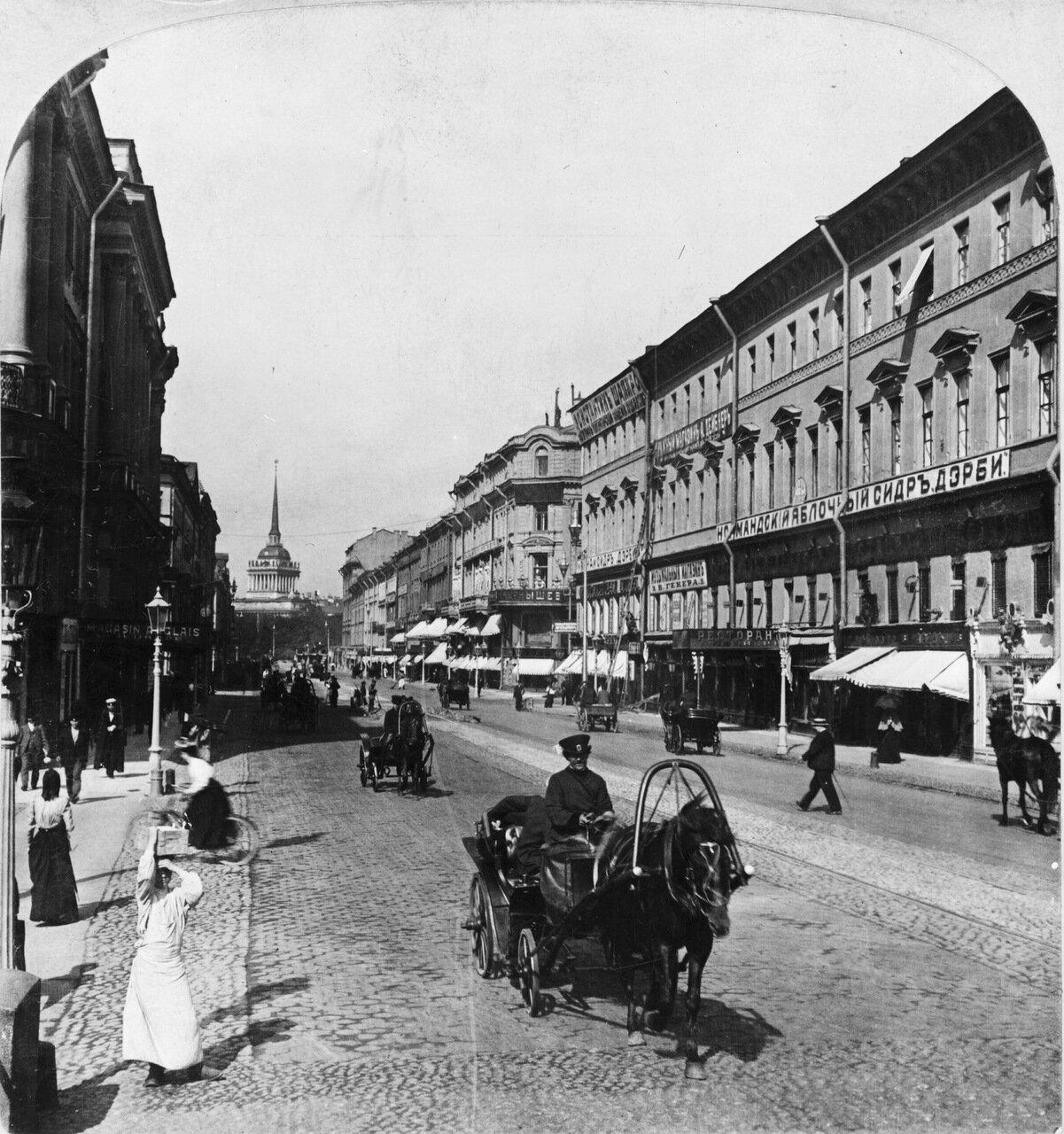 Невский проспект. 1901