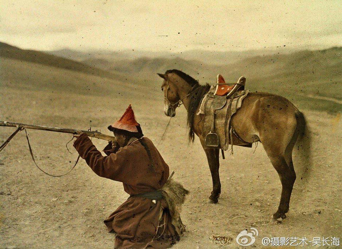 Охотник в окрестностях Урги, 1913