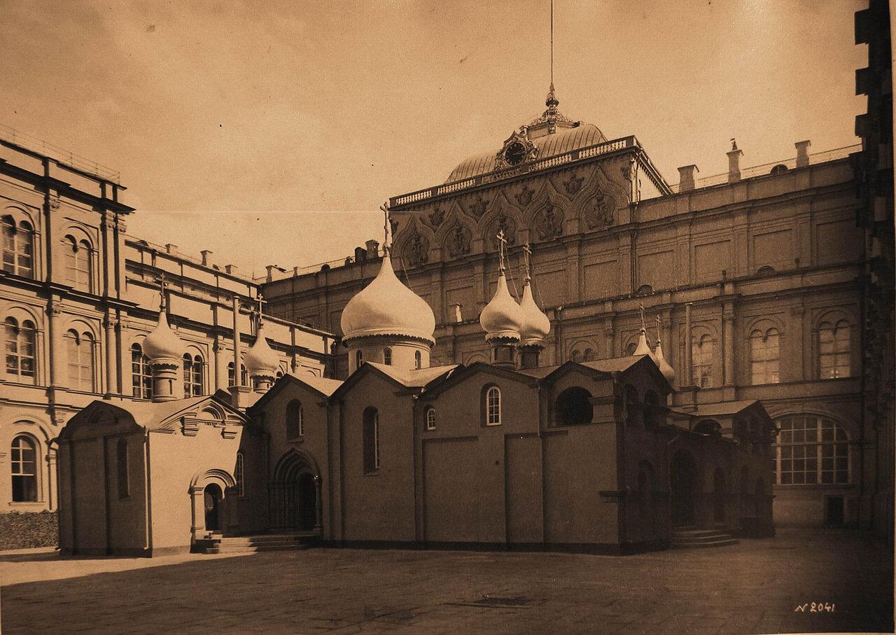 Вид собора Спаса Преображения на Бору