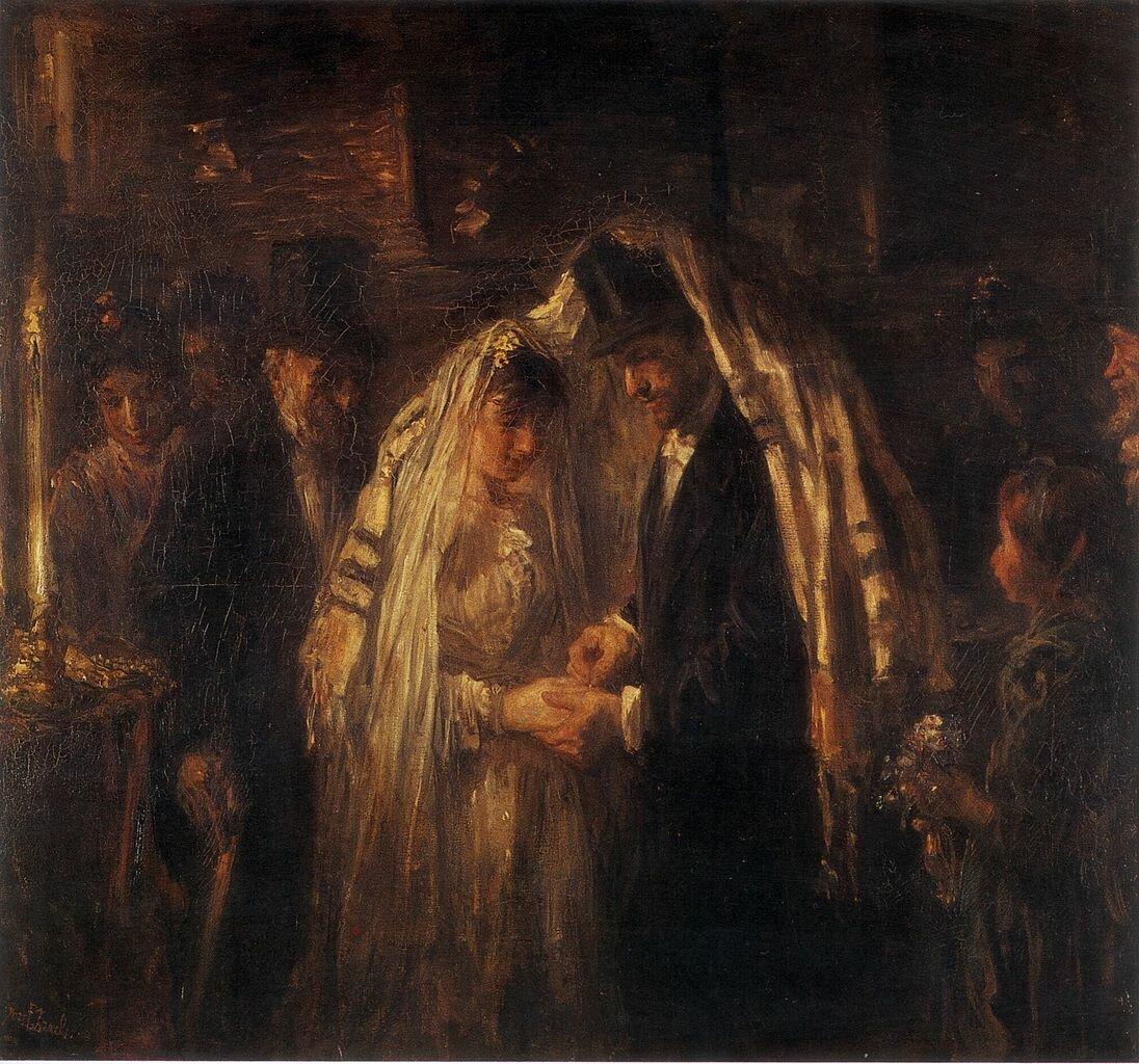 Еврейская свадьба 1903, Исраэлс Йозеф, Rijksmuseum Amsterdam