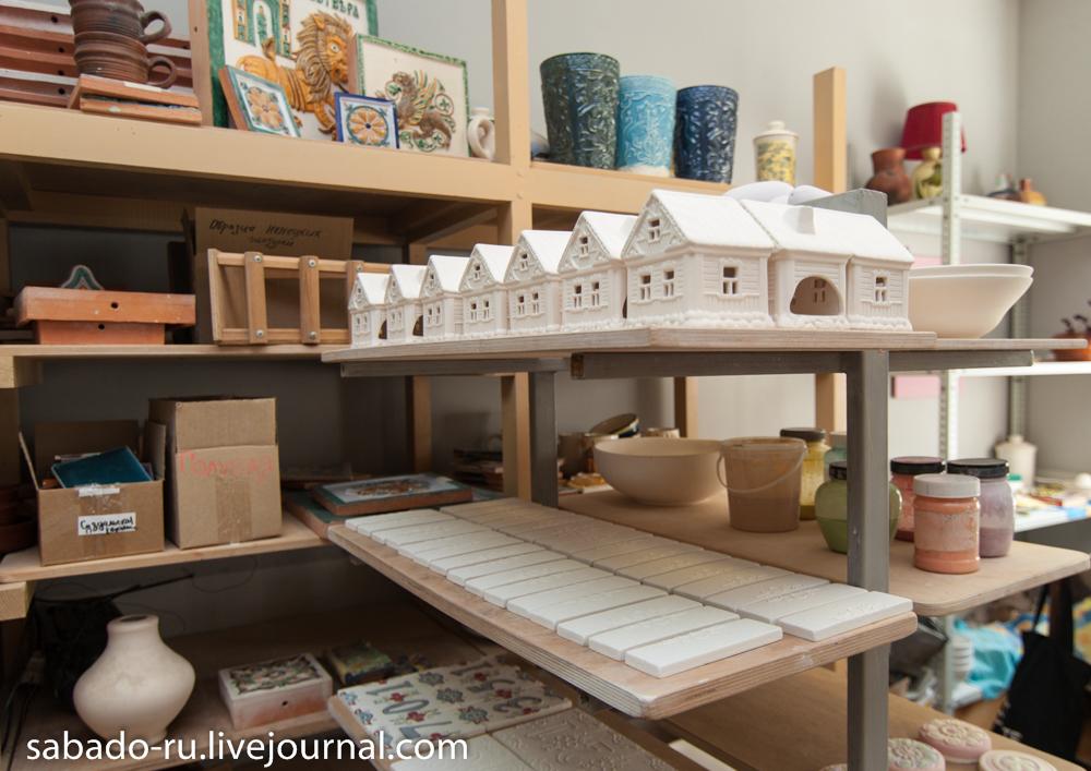 Как делают Дымовскую керамику