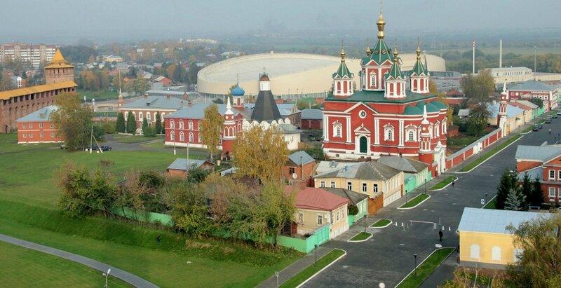 Достопримечательности Коломны: Брусенский мужской монастырь
