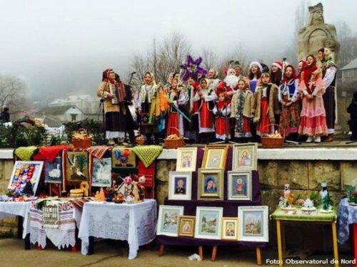Рождественская ярмарка в Сороках открылась с парада масок