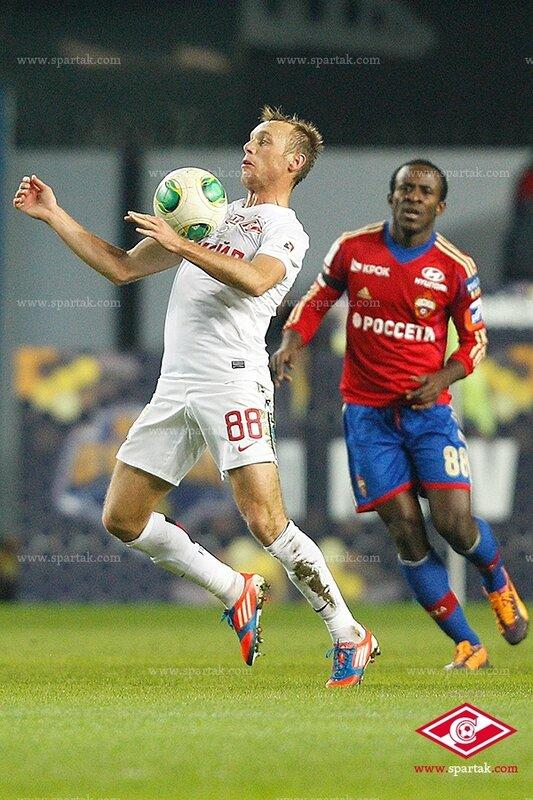ЦСКА vs «Спартак» 1:0 Премьер-лига 2013-2014 (Фото)