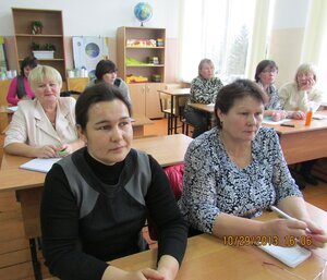 семинар профсоюза образования в Красночетайском районе (октябрь 2013)