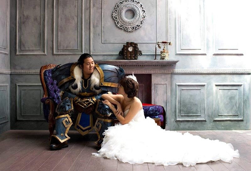 Свадьба в стиле World of Warcraft (7 фото)