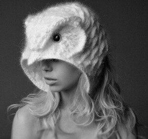 Совиный драйв-шапка от Helen R ö del