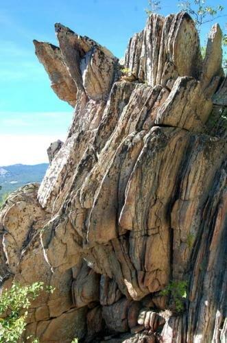 Вершина горы Малый Таганай