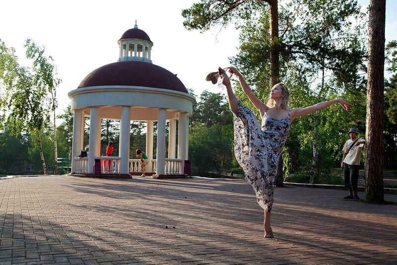 В парке им. Гагарина (10.10.2013)