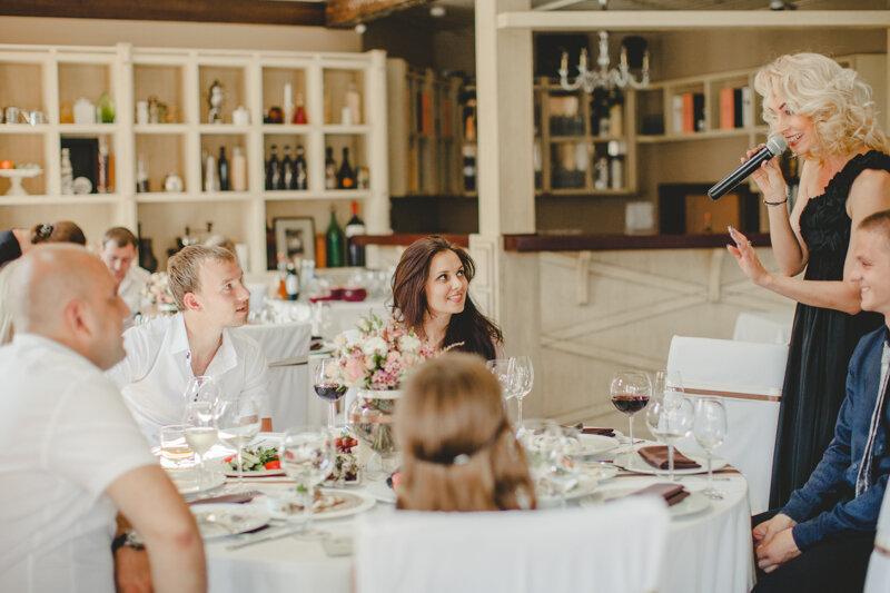 свадьба в ресторане