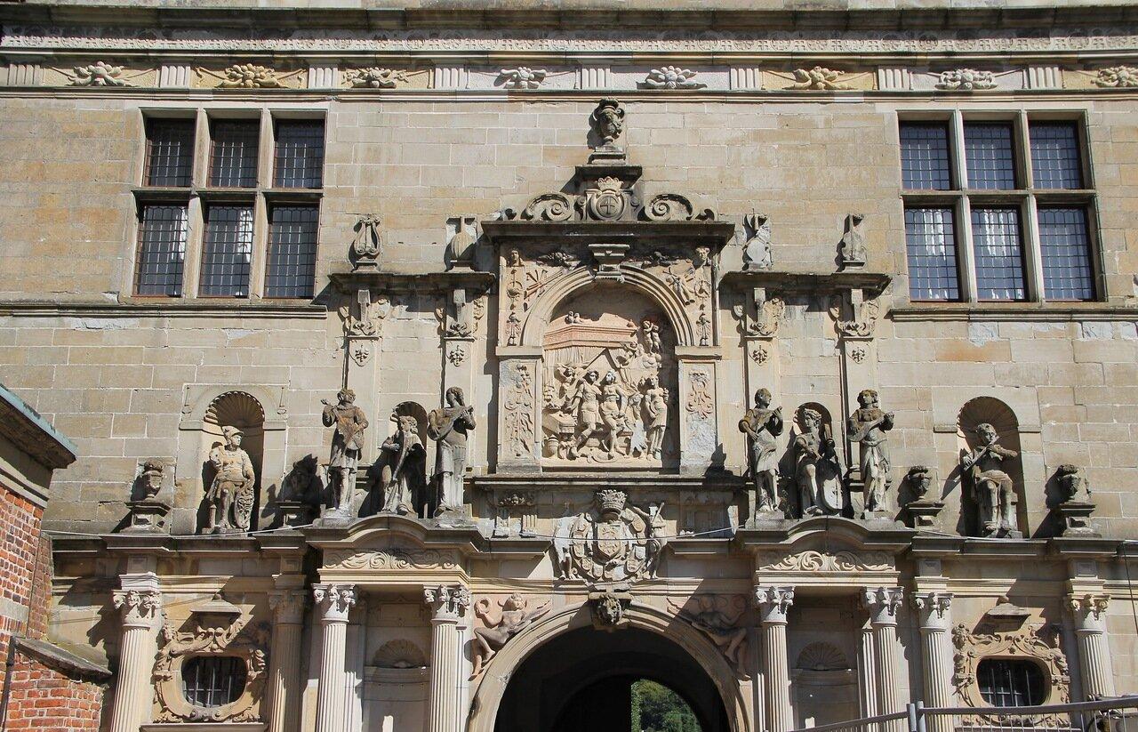 Замок Фредериксборг.  Зал аудиенций. Frederiksborg Slot