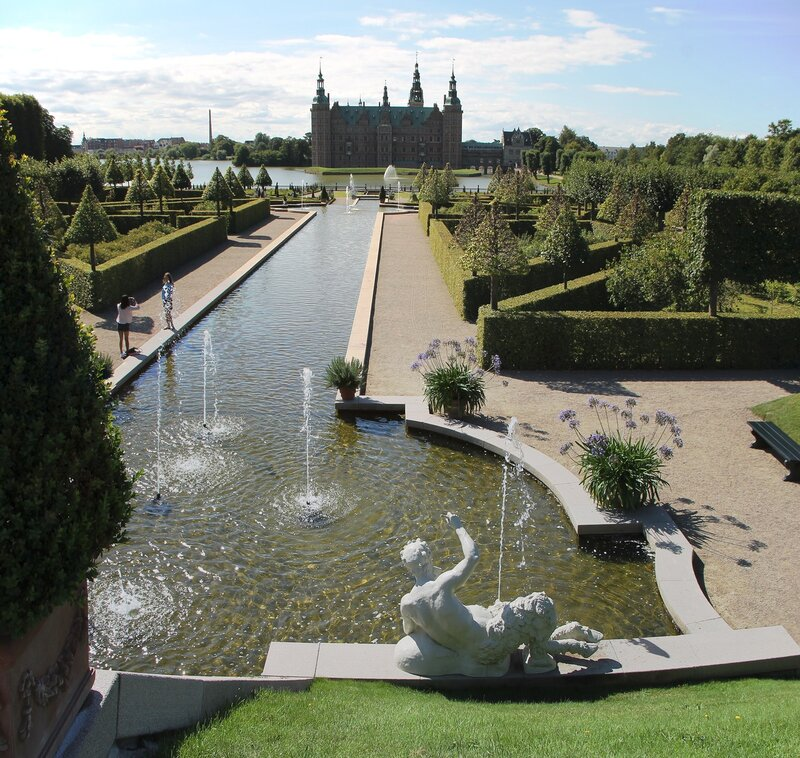 Frederiksborg castle, French Park