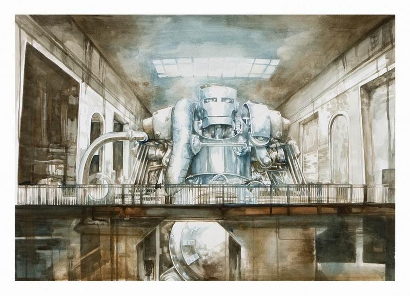 Пост-панк-кибер мир в работах Гарета  Дженсена / Gareth Jensen