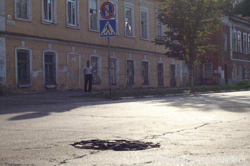 Вот такие дороги в городе, Саратов, Первомайская / Комсомольская, 24 августа 2013 года