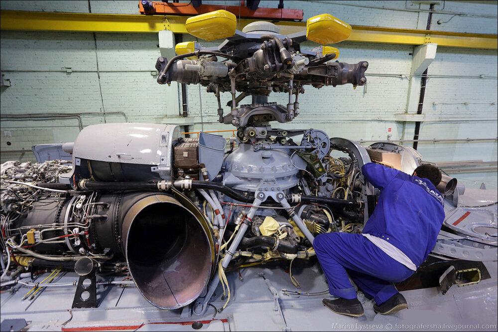 Как делают вертолеты в Казани